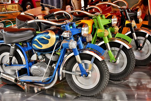 малки мотоциклети
